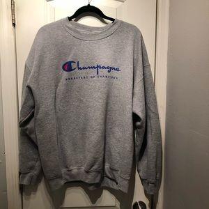 Sweaters - Champagne Graphic Sweatshirt